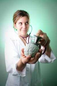 słuchając aktywności mózgu